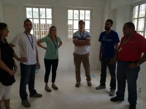 We got a tour of the new building (funded as a CIV) and heard about some of the amazing things they have planned